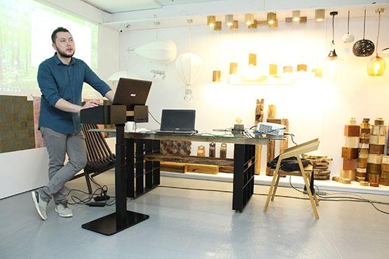 Презентация бетонных изделий In.lab Concrete workshop