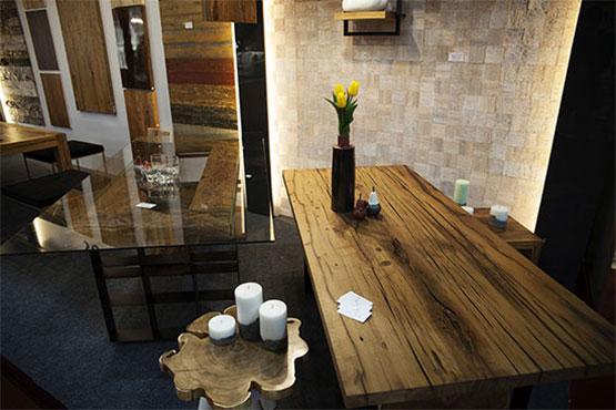 Дизайнерские изделия из винтажной древесины