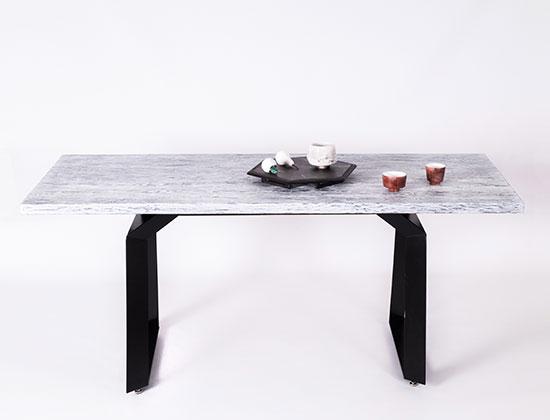 Стол обеденный, авторская керамика