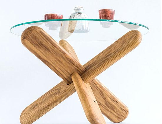 Журнальный стол, керамика